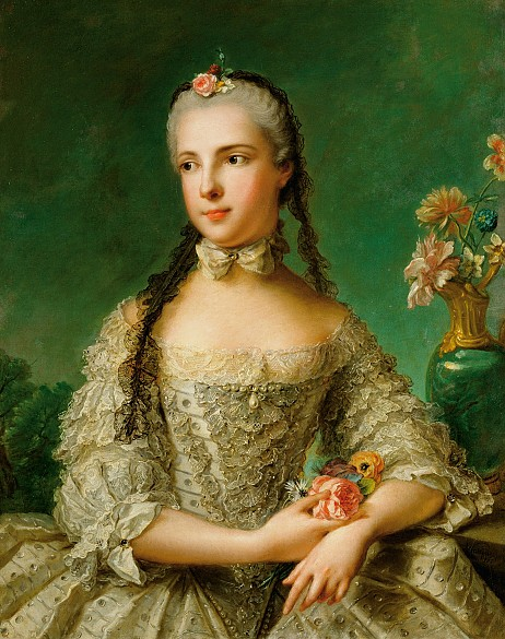 Jean Marc Nattier the Younger: Princess Maria Isabella of Parma, consort of Joseph II, dated 1758