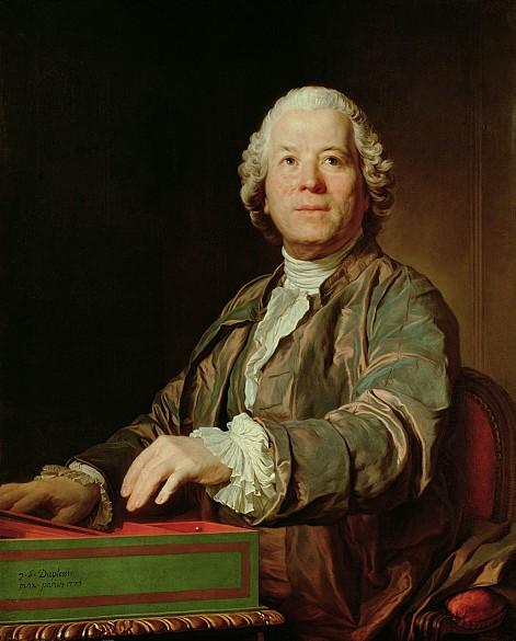 Joseph-Sifrède Duplessis: Christoph Willibald Gluck, 1775, canvas
