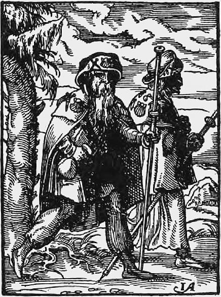 """Jost Amman: Jacobs Brüder (""""Ständebuch""""), 1568"""