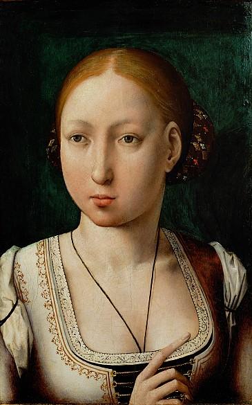 """Juan de Flandes: Johanna """"die Wahnsinnige"""", um 1500"""