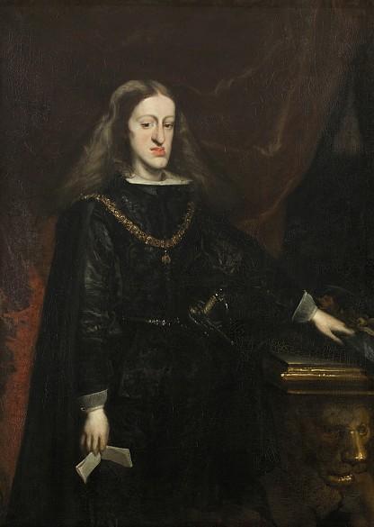 Juan de Miranda Carreño: King Charles II of Spain, c. 1685