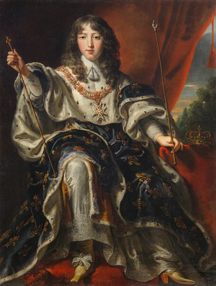 Justus van Egmont: King Louis XIV of France, c. 1651/54