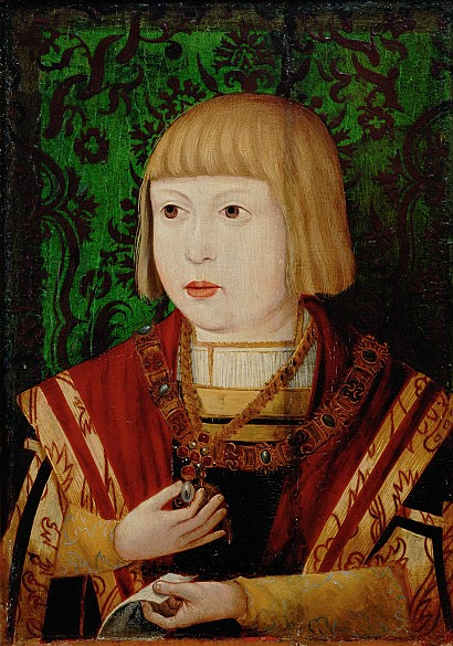 Emperor Ferdinand I at the age of 10 or 12, c. 1520