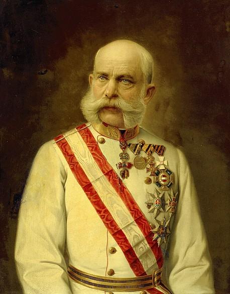 Kaiser Franz Joseph I., Ölgemälde, um 1910
