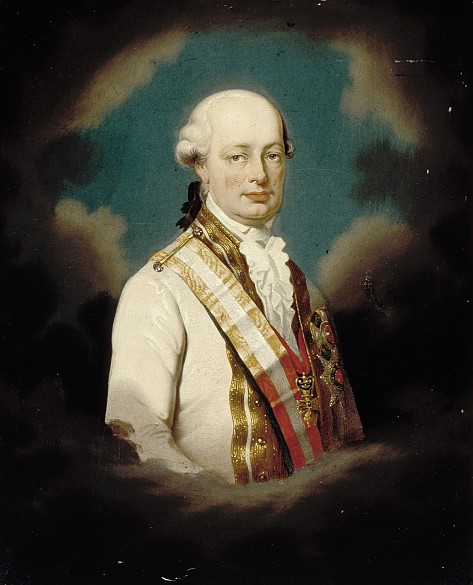 Kaiser Leopold II., Öl auf Leinwand, 1. Hälfte 19. Jahrhundert
