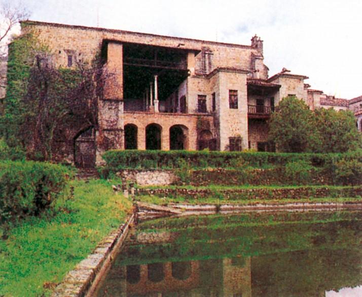 Kloster Yuste - Ansicht vom Garten