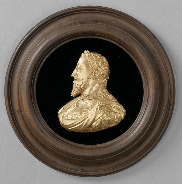 King Francis I of France, medallion, c. 1535/1540
