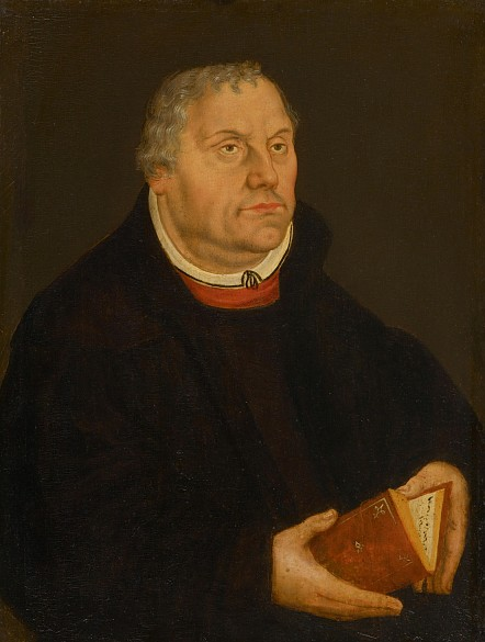 Lucas Cranach the Younger: Martin Luther, c. 1570/1580