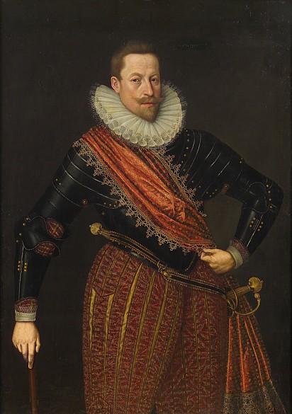 Lucas I. van Valckenborch: Kaiser Matthias als Erzherzog, um 1583