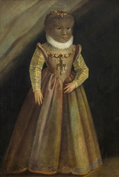 Madeleine Gonzalez, the daughter of the 'Hair Man', c. 1580
