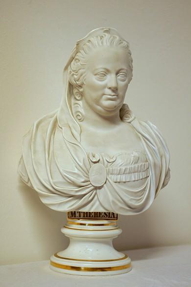 Maria Theresia, Büste