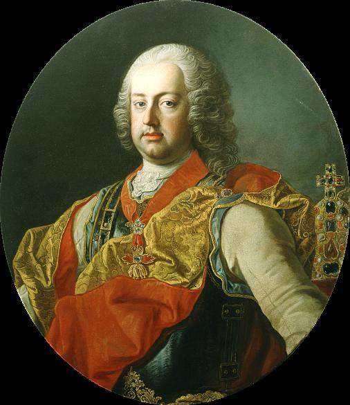 Martin van Meytens: Emperor Franz I Stephan of Lorraine, oil on canvas, mid-18th century
