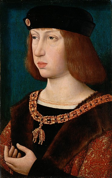 Master of the Magdalen Legend: King Philip the Fair, c. 1500