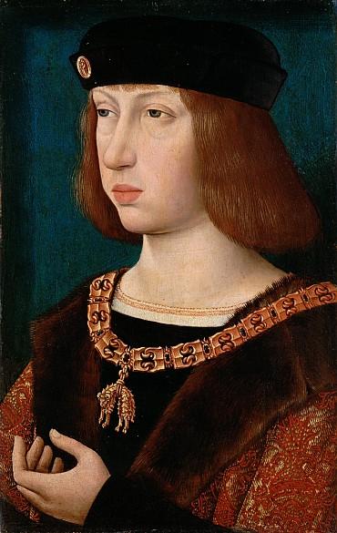 Meister der Magdalenenlegende: König Philipp I. der Schöne, um 1500