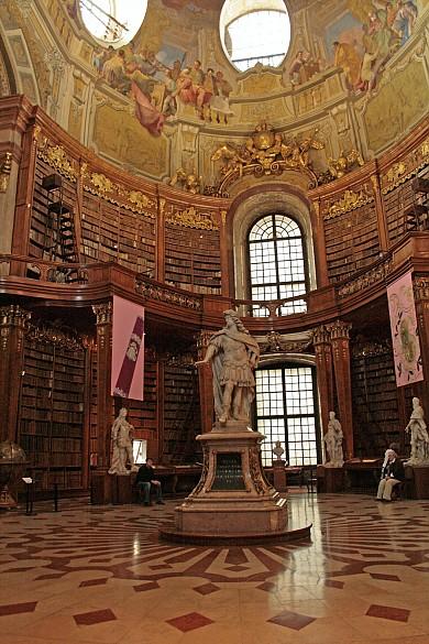 Austrian National Library, Vienna, Baroque Prunksaal