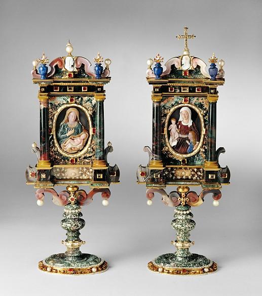 Ottavio Miseroni: Reliquienaltärchen, 1620