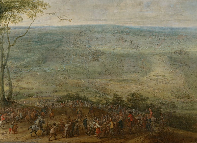 Peeter Snayers: Scene from the Thirty Years' War, c. 1630/40