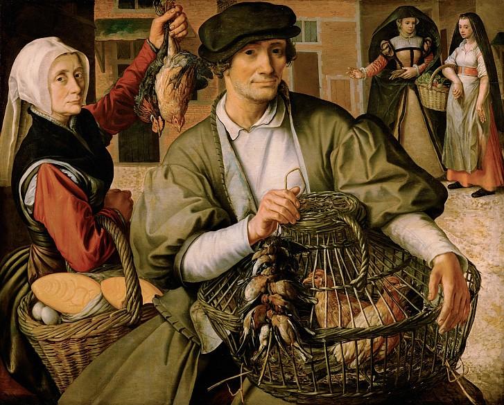 Pieter Aertsen: Marktszene, 1560/65