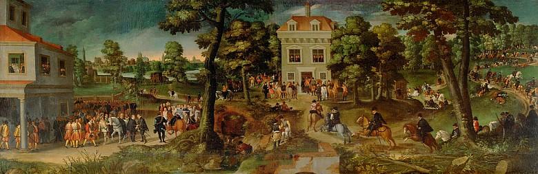 Postreise Erzherzog Ferdinands II. (1529-1595) nach Brüssel