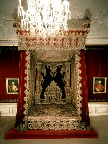 Empress Maria Theresa's bed of state
