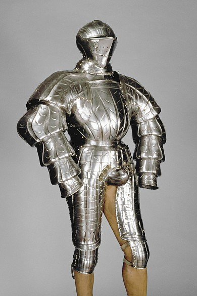 Reiterharnisch (Küriss), um 1550
