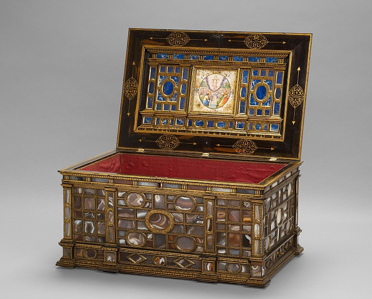 Reliquienkassette, Ende des 16. Jahrhunderts