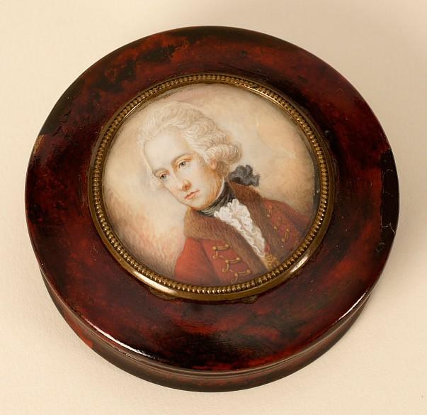 Snuffbox with a portrait of Palatine Josef Anton