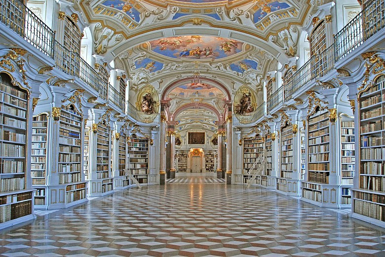 Admont Abbey: Library