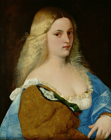 Tizian: Violante, 1510/15