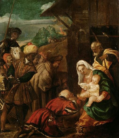 Veronese and studio: Adoration of the Magi, c. 1580/88
