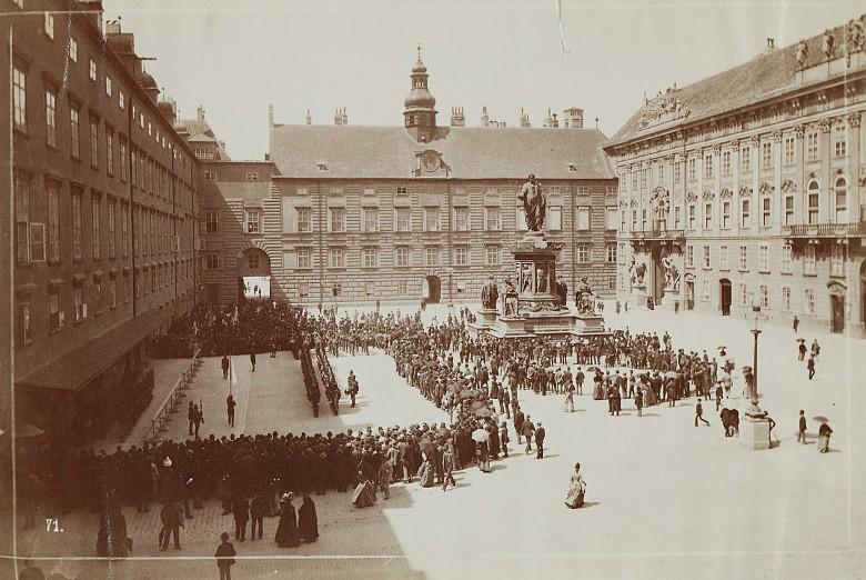 Wachablöse des Regiments, Fotografie