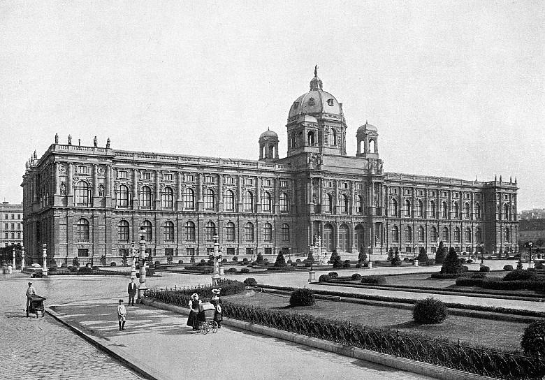 Wien, K. K. Kunsthistorisches Hofmuseum, Fotografie um 1908