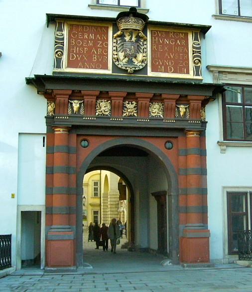 Vienna Hofburg: Schweizertor ('Swiss Gate')