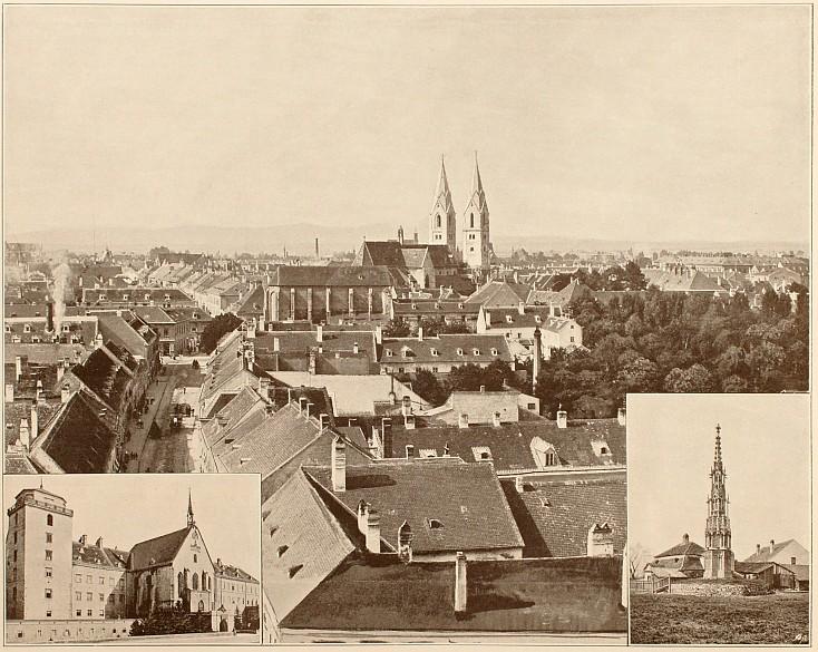 Wiener Neustadt, historische Fotografie, 19. Jahrhundert