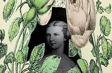 Vermählungsanzeige anlässlich der Hochzeit von Franz Joseph und Elisabeth, 1854