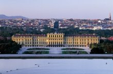 View from the Gloriette across Vienna