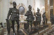 Bronze figures at the Cenotaph of Emperor Maximilian I