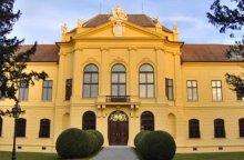 Schloss Eckartsau, Westseite
