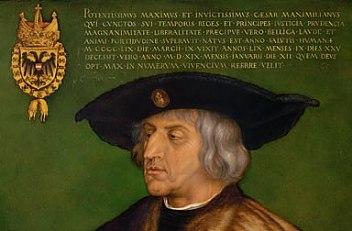 Albrecht Dürer: Kaiser Maximilian I., 1519
