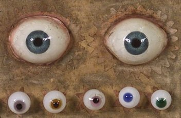 Anton Schwefel, Artificial eyes made of glass, 1820