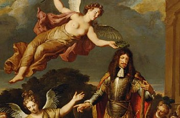 Gerard Hoet: Allegory on the reign of Emperor Leopold I, c. 1672