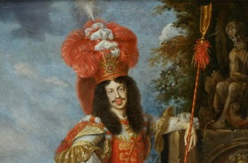 Jan Thomas: Emperor Leopold I in theatrical costume, 1667