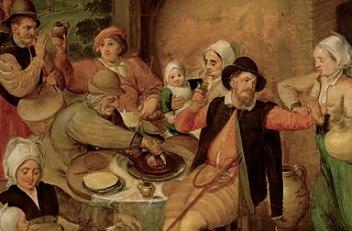 Maerten van Cleve: Flemish household, 1555/60