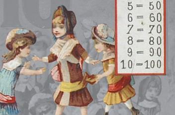 Anleitungsspiel zum Rechnen für Kinder