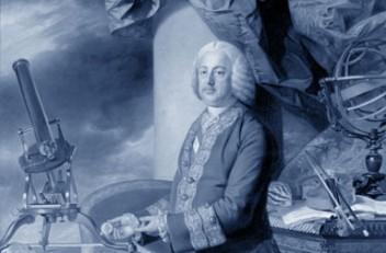 Johann Zoffany: Kaiser Franz Stephan I. in seinen naturhistorischen Sammlungen, Ölgemälde, 1776/77