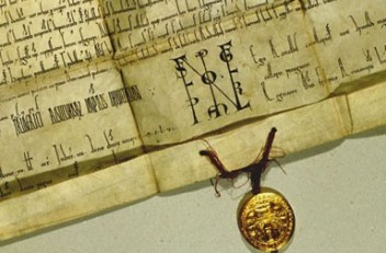 *Privilegium maius*, dated 1156, forgery from 1358/59