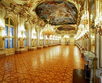The Great Gallery in Schönbrunn Palace