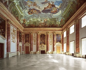 Herkules Hall in the Liechtenstein summer palace