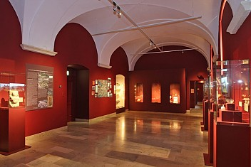 Interior of the Stadtmuseum St Pölten