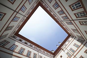 Innenhof der Neuen Residenz